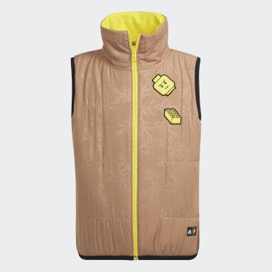 Kids 4-8 Years Gym & Training Brown adidas x LEGO® Baumhaus Vest