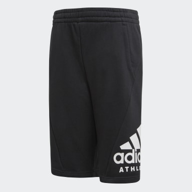 Shorts Sport ID Negro Niño Training