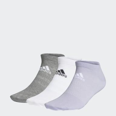 Sports Low-Cut Socken, 3 Paar Lila