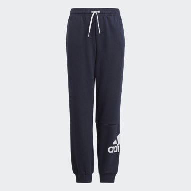 Boys Lifestyle Blue Essentials French Terry Pants