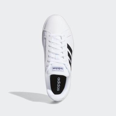 Tenis adidas Grand Court Base Blanco Hombre Essentials