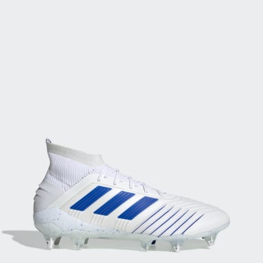 Calzado de Fútbol Predator 19.1 Soft Ground Blanco Hombre Fútbol