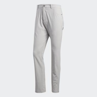 Men Golf Grey Adicross Five-Pocket Pants