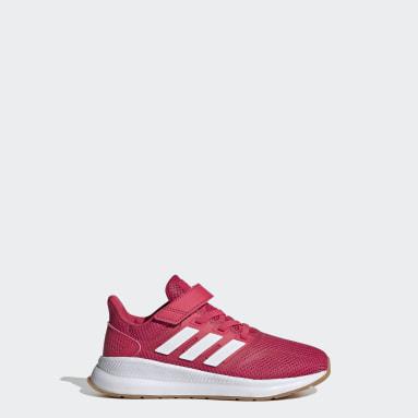 Kids Running Pink Run Falcon Shoes