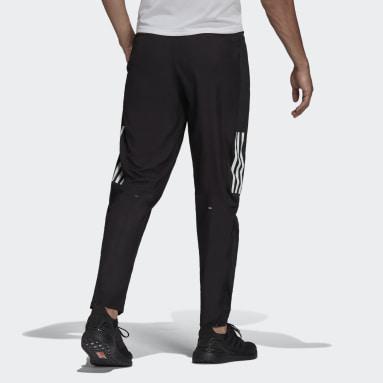 Mænd Løb Sort adidas Own The Run Astro Wind bukser