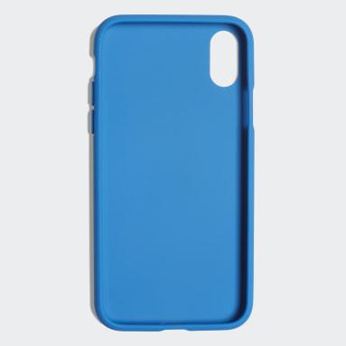 Originals Blauw Basic Logo Case iPhone X
