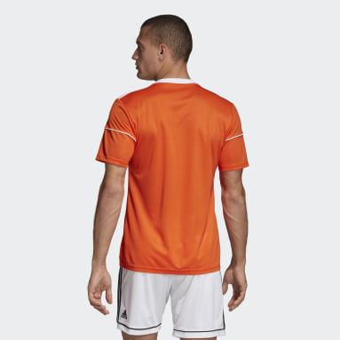 Camiseta Squadra 17 Naranja Hombre Gimnasio Y Entrenamiento