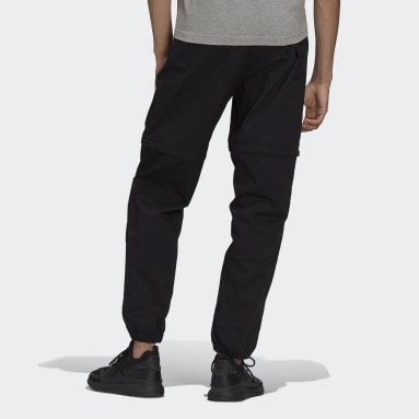 Men Originals Black R.Y.V. Cotton Twill Two-in-One Track Pants