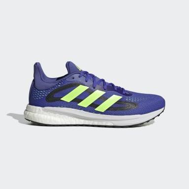 Zapatilla SolarGlide 4 Azul Running