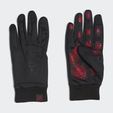 Football Black Manchester United AEROREADY Fieldplayer Gloves