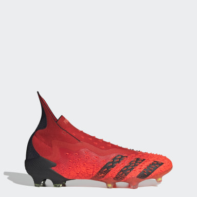 Fotbal červená Kopačly PREDATOR FREAK + FG