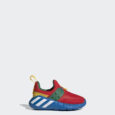 Infants เทรนนิง สีแดง รองเท้า adidas RapidaZen x LEGO®