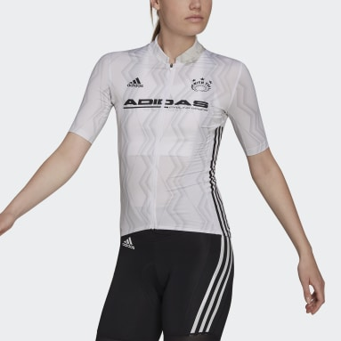 The Short Sleeve Cycling Graphic Jersey Bialy