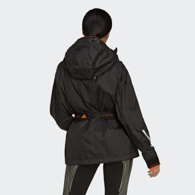 черный Куртка для бега adidas by Stella McCartney TruePace 2-в-1