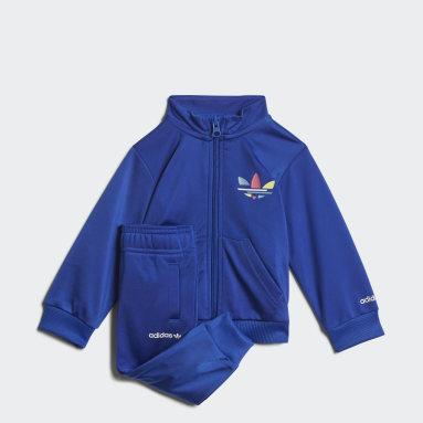 Fato de Treino Adicolor Azul Criança Originals