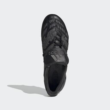 Bota de fútbol Predator Accelerator césped natural seco Negro Fútbol