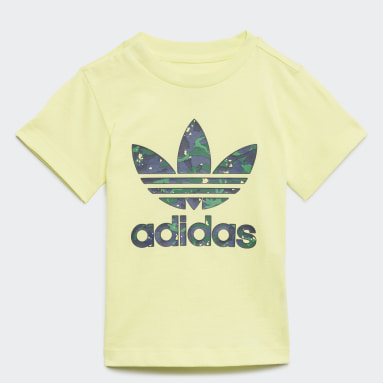 Camiseta Estampada Camo Amarelo Meninos Originals