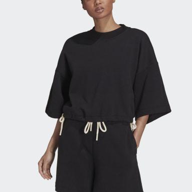 Dam Sportswear Svart adidas Sportswear Studio Lounge Fleece Sweatshirt
