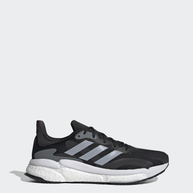 Running Black SolarBoost 3 Shoes