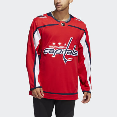 Men's Hockey Red Capitals Home Authentic Jersey
