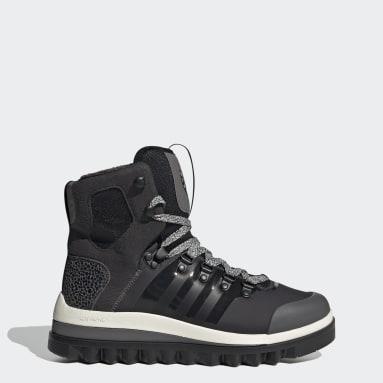 черный Утепленные ботинки Eulampis