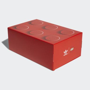 Chaussure adidas ZX 8000 x LEGO® rouge Adolescents Originals