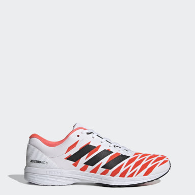 Men Running White Adizero RC 3 Tokyo Shoes