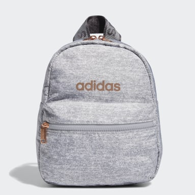 Women's Training Grey Linear Mini Backpack