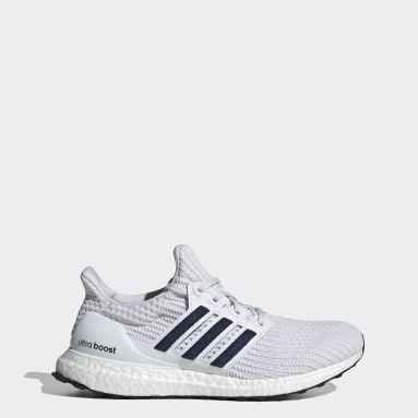 Running White Ultraboost 4.0 DNA Shoes
