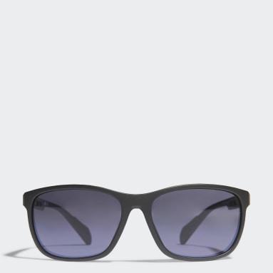 Running Black SP0014 Matte Black Injected Sport Sunglasses