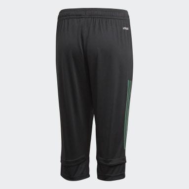 Pants FMF 3/4 (UNISEX) Negro Niño Fútbol
