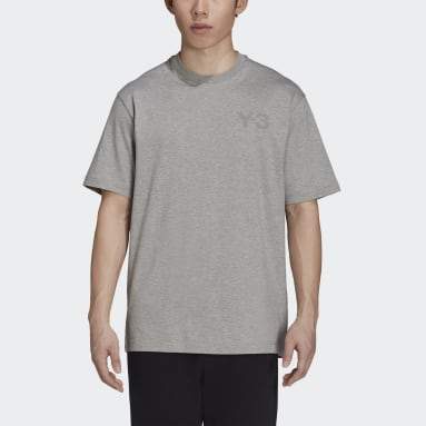 T-shirt Logo Y-3 CL Gris Hommes Y-3