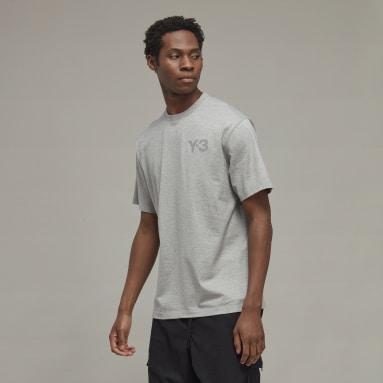Mænd Y-3 Grå Y-3 CL Logo T-shirt