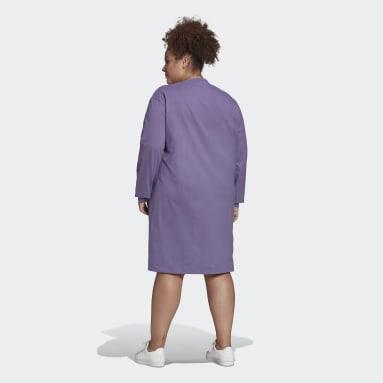 Women's Originals Purple Long Sleeve Dress