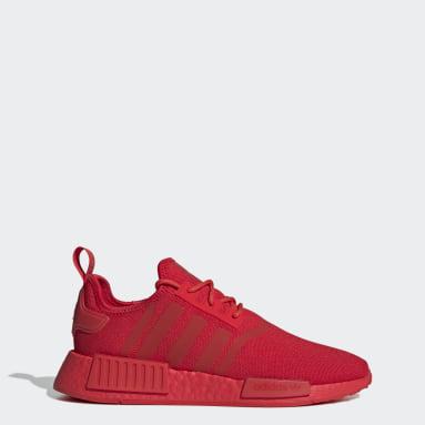 Men Originals Red NMD_R1 Primeblue Shoes