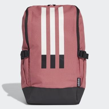 Yoga Burgundy 3-Stripes Response Backpack