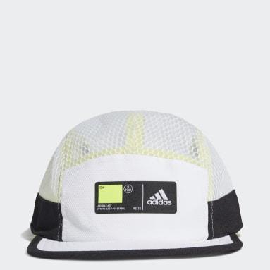 Five-Panel Athletics Caps Hvit
