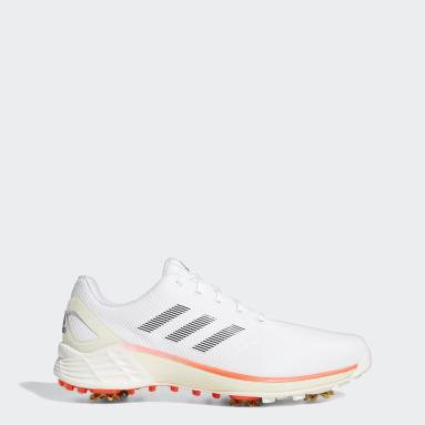 Men's Golf White ZG21 Tokyo Golf Shoes