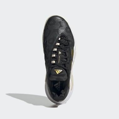 Women Tennis Black Barricade Shoes