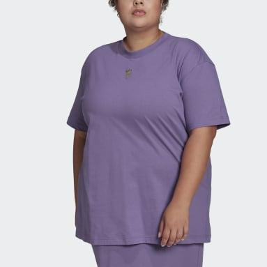 Short Sleeve T-skjorte Lilla
