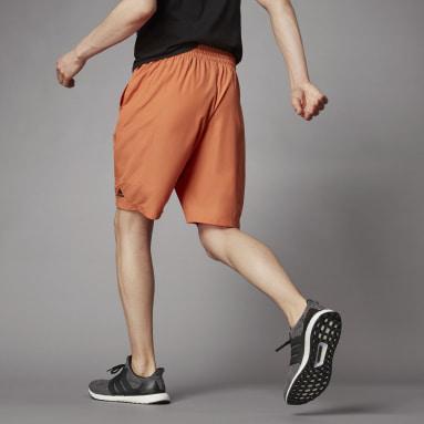 Men Lifestyle Orange Terra Love O-Shape Shorts