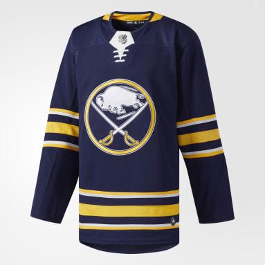 Maillot Sabres Domicile Authentique Pro Bleu Hockey