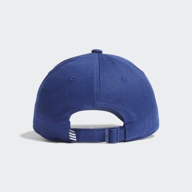 Casquette Trefoil Baseball Bleu Originals