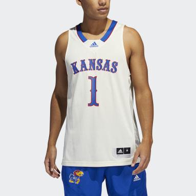 Men's Basketball White Jayhawks NCAA Swingman Jersey