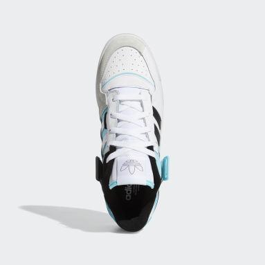 ผู้ชาย Originals สีขาว รองเท้า Forum Exhibit Low
