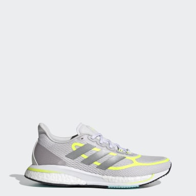 Women Running Grey Supernova+ Shoes
