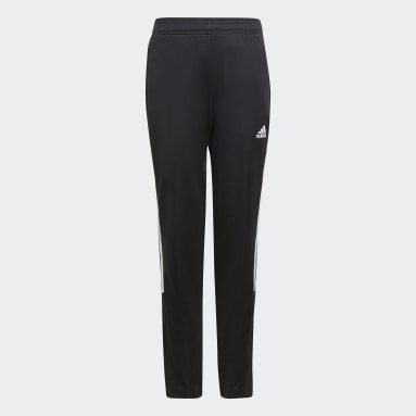 Dívky Fotbal černá Sportovní kalhoty Tiro