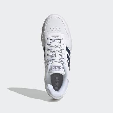 Tenis Hoops 2.0 Blanco Hombre Diseño Deportivo
