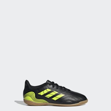 Children Soccer Black Copa Sense.4 Indoor Shoes