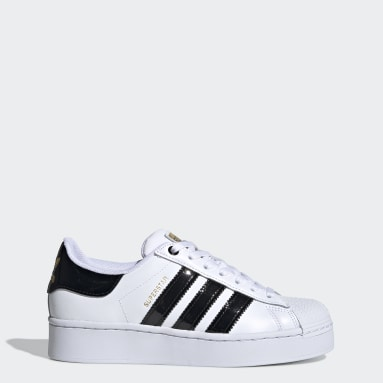 Women Originals White Superstar Bold Women's Shoes